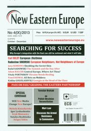 New Eastern Europe 4/2013 Searching for Success,
