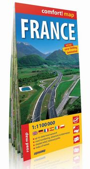 France road map 1:1 100 000,