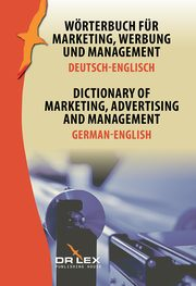 Dictionary of Marketing Advertising and Management German-English, Kapusta Piotr