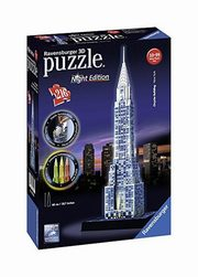 Puzzle 3D Chrysler Building Night Edition 216,
