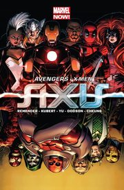 Avengers i X-Men Axis, Remender Rick, Kubert Adam, FrancisYu Leinil, Dodson Terry, Cheung Jim