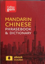 Collins Mandarin Chinese Phrasebook and Dictionary,