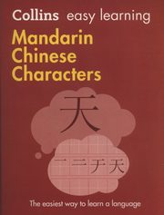 Collins Easy Learning Mandarin Chinese Characters,