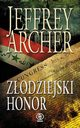 Złodziejski honor, Archer Jeffrey